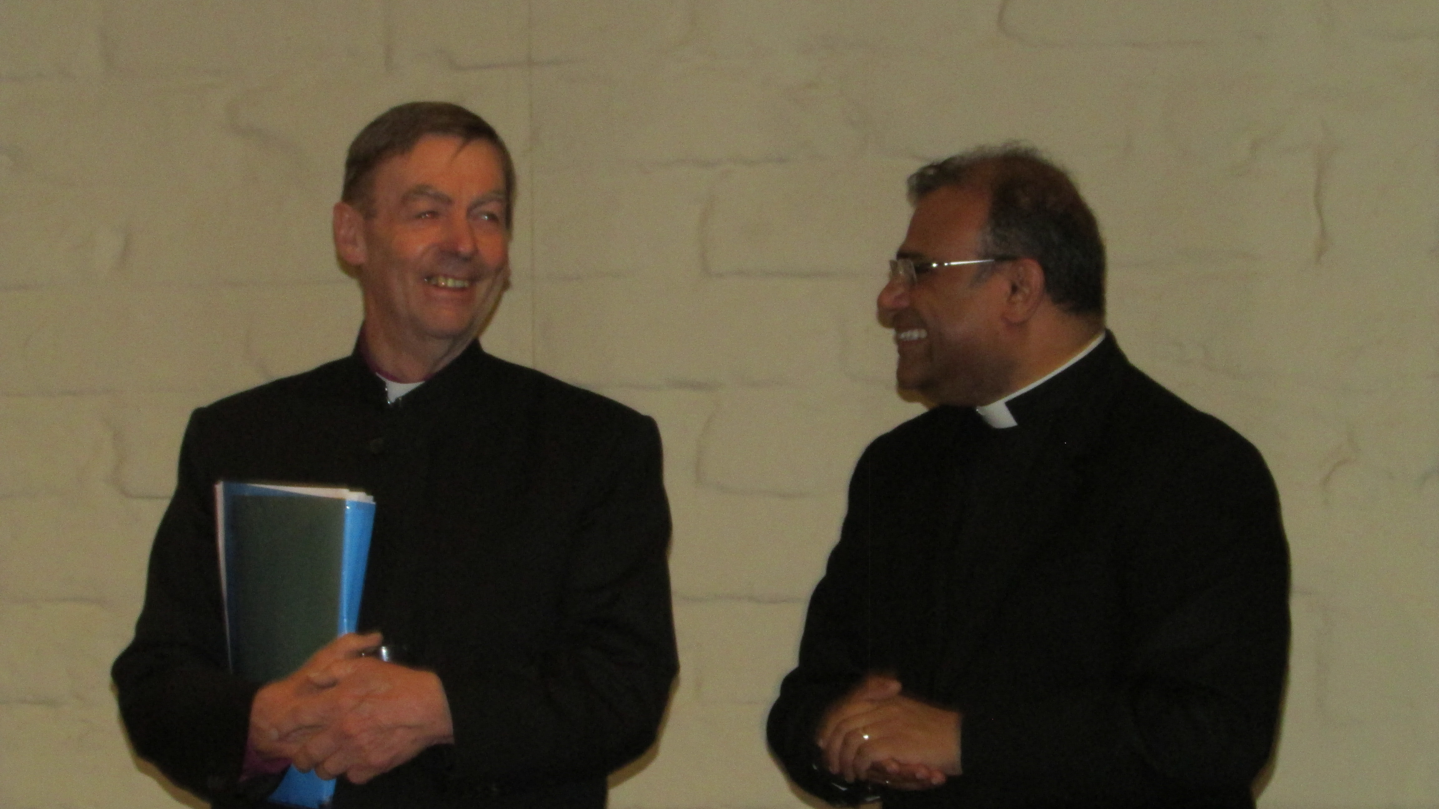 Bishop Philip and Rev Ruwan