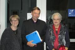 Bishop Philip Huggins, Kathleen Toal & Diana Warrell